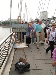 on_hungerford_bridge