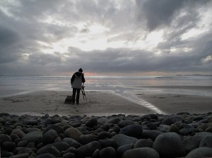 Roy_Connelly_on_Newgale_Beach
